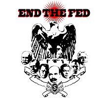 End The Fed Photographic Print