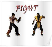 Tekken V.S. Mortal Kombat Poster