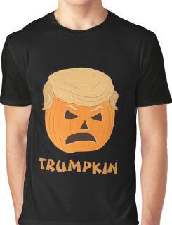 Trumpkin Donald Trump Pumpkin Halloween Graphic T-Shirt