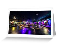 Dodgem Nights  Greeting Card