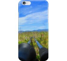 walking sticks also need a rest iPhone Case/Skin