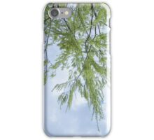 willow tree upside down iPhone Case/Skin