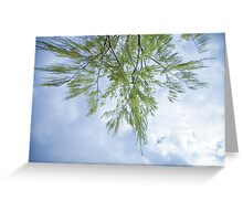 willow tree upside down Greeting Card