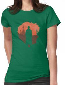 10th head, home planet Womens Fitted T-Shirt