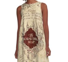 marauders brown A-Line Dress
