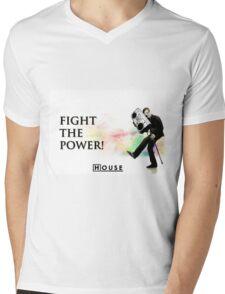 House M.D. - Fight the Power! Mens V-Neck T-Shirt
