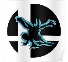 SUPER SMASH BROS:Greninja-Wii U Poster