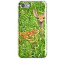 Babe in Tall Grass iPhone Case/Skin