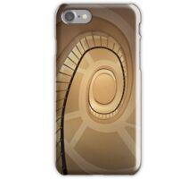 Brown spirals iPhone Case/Skin
