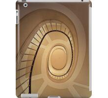 Brown spirals iPad Case/Skin