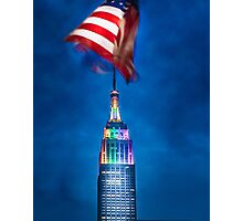 Colours of the Empire State Building Photographic Print