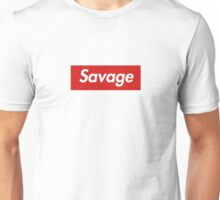 21 savage box logo Unisex T-Shirt
