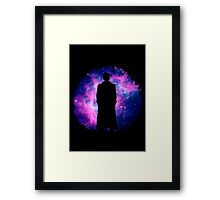 10th space Framed Print