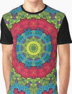 Psychedelic LSD Trip Ornament 0011 Graphic T-Shirt