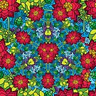 Psychedelic LSD Trip Ornament 0012 by Andrei Verner