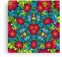 Psychedelic LSD Trip Ornament 0012 Canvas Print