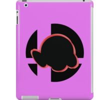 SUPER SMASH BROS: Kirby-3DS iPad Case/Skin