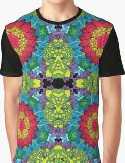 Psychedelic LSD Trip Ornament 0013 Graphic T-Shirt