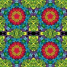 Psychedelic LSD Trip Ornament 0013 by Andrei Verner