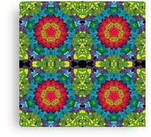 Psychedelic LSD Trip Ornament 0013 Canvas Print