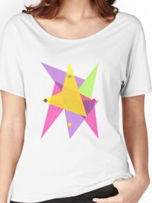 Abstract Circle  Women's Relaxed Fit T-Shirt