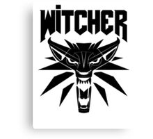The Witcher (DOOM) Canvas Print