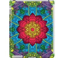 Psychedelic LSD Trip Ornament 0014 iPad Case/Skin