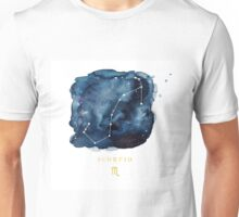 Scorpio Zodiac Constellation Unisex T-Shirt