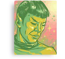 Spock Canvas Print