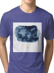 Virgo Zodiac Constellation Tri-blend T-Shirt