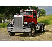 1972 Peterbilt '358' Truck 1 Photographic Print