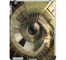Spiral staircase in pastels iPad Case/Skin