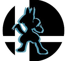 SUPER SMASH BROS: Lucario-Wii U by Manbalcar