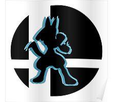 SUPER SMASH BROS: Lucario-Wii U Poster