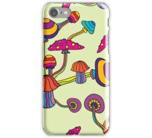 Psychedelic Magic Mushroom Ornament 0002 iPhone Case/Skin