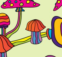 Psychedelic Magic Mushroom Ornament 0002 Sticker