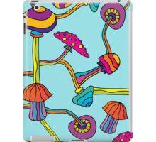 Psychedelic Magic Mushroom Ornament 0003 iPad Case/Skin