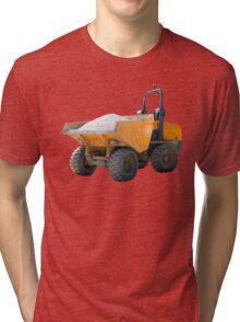 Dumper Truck Scratched and Dented Tri-blend T-Shirt