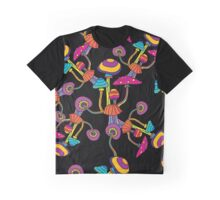 Psychedelic Magic Mushroom Ornament 0004 Graphic T-Shirt