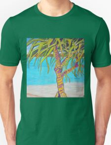 Blue water Pandanas Unisex T-Shirt