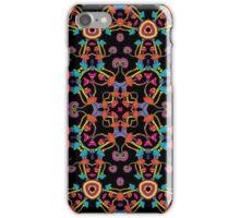 Psychedelic Magic Mushroom Ornament 0005 iPhone Case/Skin