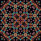 Psychedelic Magic Mushroom Ornament 0005 by Andrei Verner