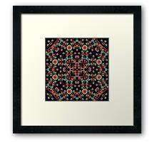 Psychedelic Magic Mushroom Ornament 0005 Framed Print