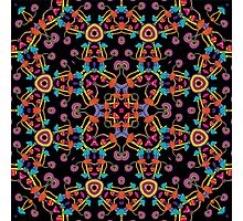 Psychedelic Magic Mushroom Ornament 0005 Photographic Print