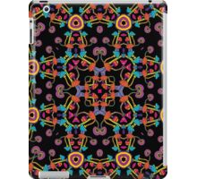 Psychedelic Magic Mushroom Ornament 0005 iPad Case/Skin