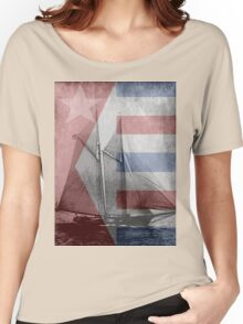 patriotic sail Women's Relaxed Fit T-Shirt