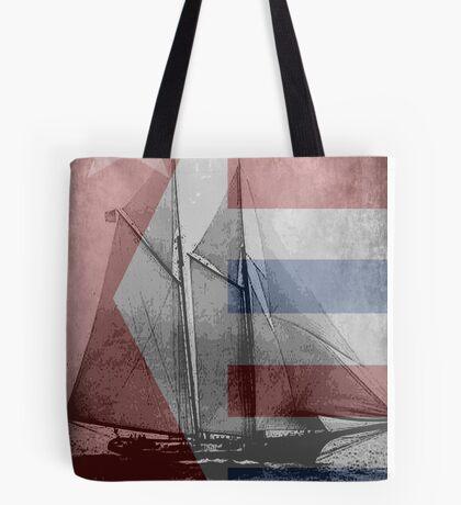 patriotic sail Tote Bag
