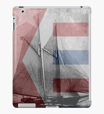 patriotic sail iPad Case/Skin