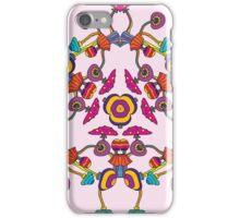 Psychedelic Magic Mushroom Ornament 0006 iPhone Case/Skin