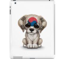 Cute Patriotic South Korean Flag Puppy Dog iPad Case/Skin